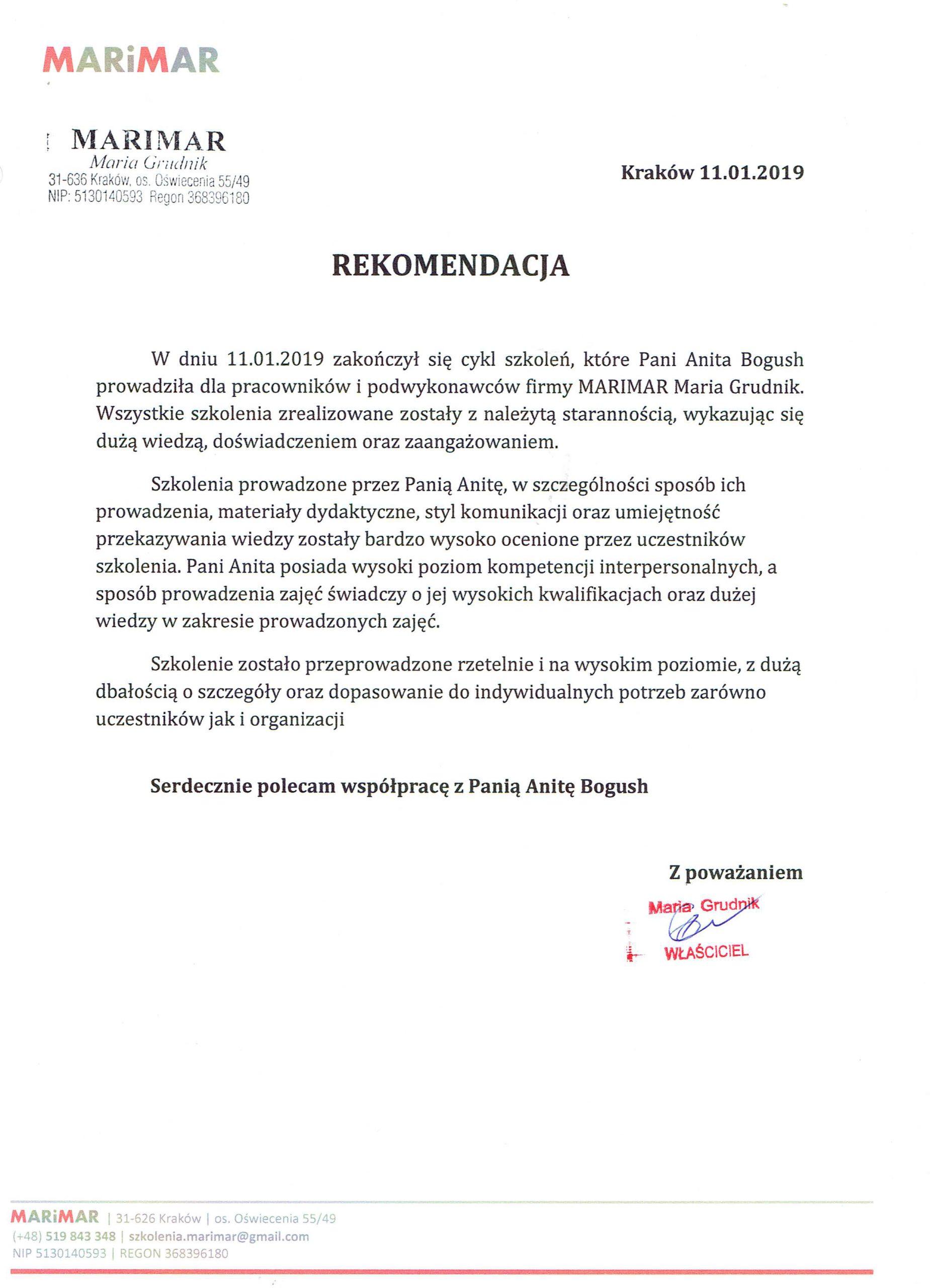 MARIMAR Maria Grudnik